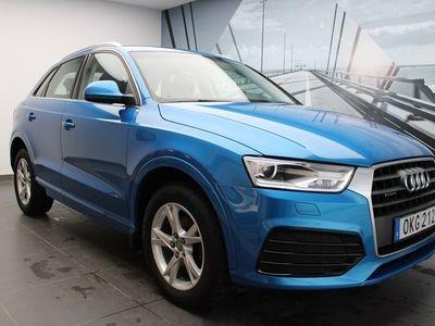 begagnad Audi Q3 TDI Q 150 HK S-TRONIC SPORT