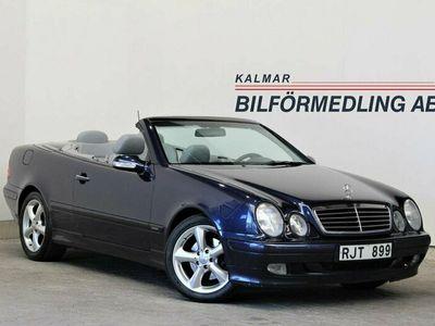 begagnad Mercedes CLK230 Kompressor Cabriolet Elegance 193hk