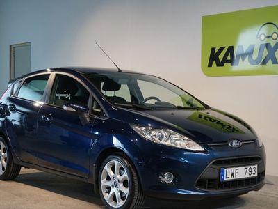 used Ford Fiesta 1.25 Manuell. 82hk. 2012