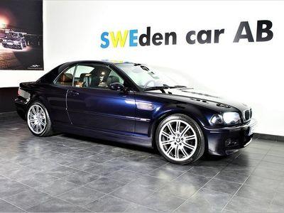 begagnad BMW M3 Cabriolet Sv Såld Can låga mil Samlarbil