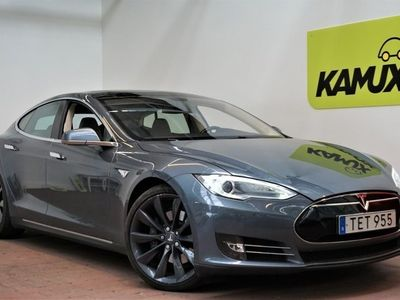 brugt Tesla Model S P85+ Panorama Luftfjädring