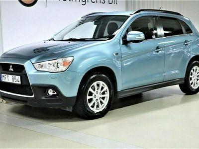 begagnad Mitsubishi ASX 1.8 Di-D 4WD Manuell 116hk
