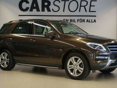 begagnad Mercedes ML350 - Benz4Matic 7G - Tronic 306hk