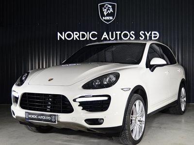 begagnad Porsche Cayenne Turbo TipTronic S 500hk Svensksåld