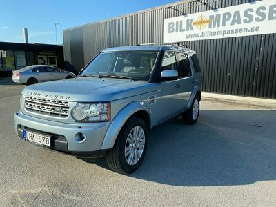 begagnad Land Rover Discovery 3.0 TDV6 4WD Automat 7-sits 245hk HSE