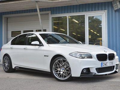 """begagnad BMW ActiveHybrid 5 M-Sport GPS Värmare Läder 19"""""""