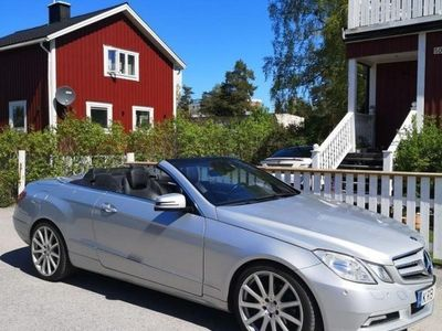 begagnad Mercedes E250 Cabriolet BlueEFFICIENCY