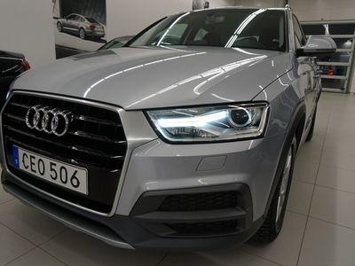 "brugt Audi Q3 Quattro 2.0 TDI 150HK S-TRONIC, 18"" drag mm."