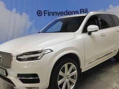 begagnad Volvo XC90 D5 AWD Inscription 7-s.drag 360 voc 2019, SUV 555 000 kr