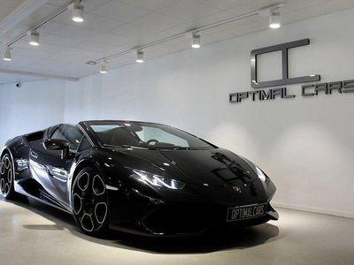 begagnad Lamborghini Huracán LP610 Spyder Race-Exhaust -17