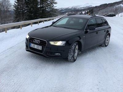 begagnad Audi A4 sline quattro s proline