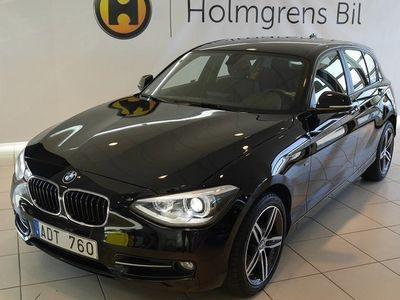 begagnad BMW 120 d 5dr Advantage Edition Sportline Automat
