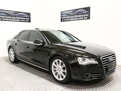 """begagnad Audi A8 4,2 TDI V8 Q 350HK 22"""" 2,95% 2899kr/mån"""