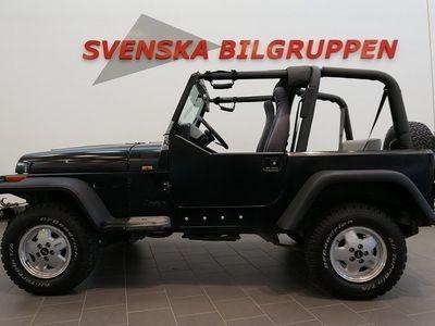 käytetty Jeep Wrangler 4.0 V6 4WD 1-Ägare Hardtop Drag