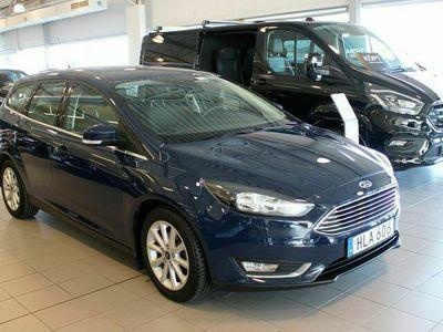 begagnad Ford Focus 1.0T 100hk Titanium Vhjul ACC Rutvärme Filassistans