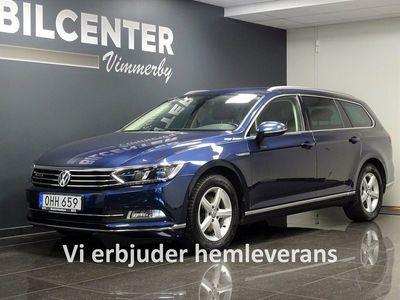 begagnad VW Passat sc 2.0 TDI 4Motion DSG Executive 190hk