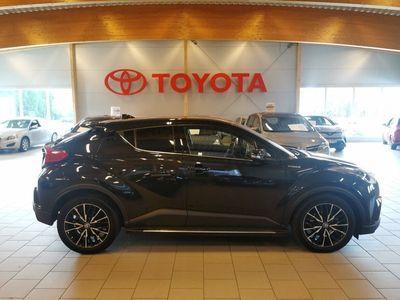 begagnad Toyota C-HR 1,8 HYBRID EXECUTIVE JBL/V-hjul,MoK,Sidesteps