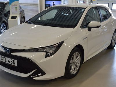 begagnad Toyota Corolla Hybrid 1,8 5-D Active V-Hjul