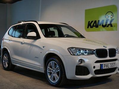 gebraucht BMW X3 20d xDrive M-sport D-värm Shadowline (190hk)