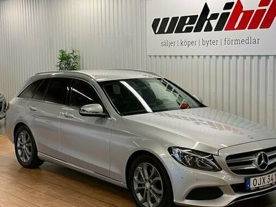 begagnad Mercedes C200 C BenzT d 7G-Tronic värmare skinn drag GPS 2017, Kombi Pris 249 500 kr