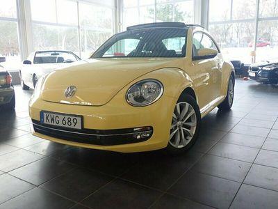 begagnad VW Beetle The 1.2 TSI Design Plus Läder Panorama 2015, Sportkupé Pris 138 000 kr