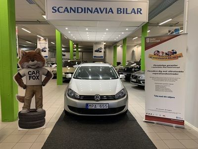 begagnad VW Golf Variant 1.6 TDI DSG Automat Drag