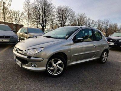 begagnad Peugeot 206 Låg mil, 1.6, 0%ränta