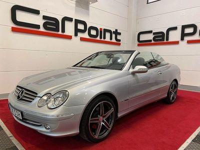 begagnad Mercedes CLK280 Cabriolet Elegance Avantgarde, NYSERVAD