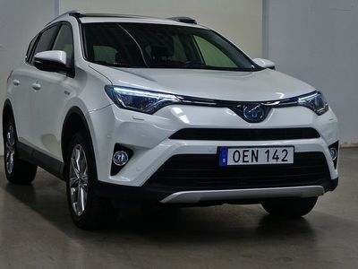 begagnad Toyota RAV4 Hybrid Executive Navi E-FOUR 2.5 i-AWD 197hk