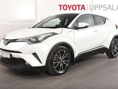 begagnad Toyota C-HR 1,8 Elhybrid Executive Teknik Skinn JBL