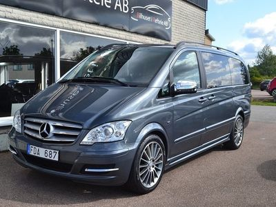 begagnad Mercedes Viano 3.0 TouchShift 224hk -13