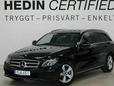 begagnad Mercedes 220 - Benz E - Klass4Matic Drag Värmare Navi Backkamera