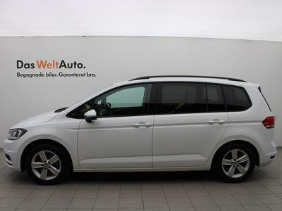 begagnad VW Touran TSI 150 DSG7/7-sits