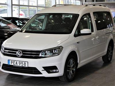 gebraucht VW Caddy Maxi Life 2.0 TDI 150HK 4M 7-SITS DSG EU6