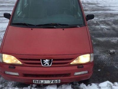 begagnad Peugeot 806 7 sits -00