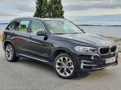 begagnad BMW X5 xDrive30d värmare krok mm