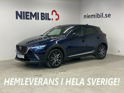 begagnad Mazda CX-3 2.0 Optimum AWD Aut Euro 6 150hk BOSE Navi Mok