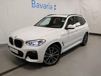 "begagnad BMW X3 xDrive30e M-Sport Panorama Läder 20"" hjul"