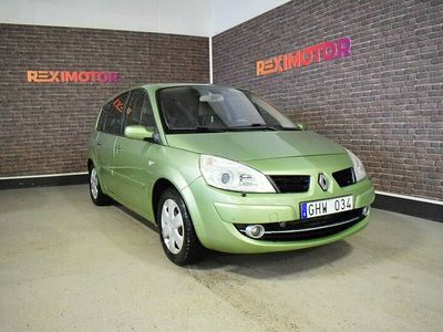 begagnad Renault Grand Scénic 1.9 dCi 130hk 7-sits Besiktad