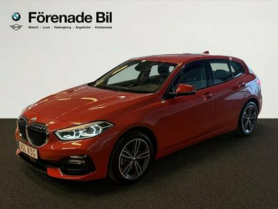 begagnad BMW 118 i 5 dr Sport Line Aut HIFI 2020, Halvkombi Pris 259 000 kr