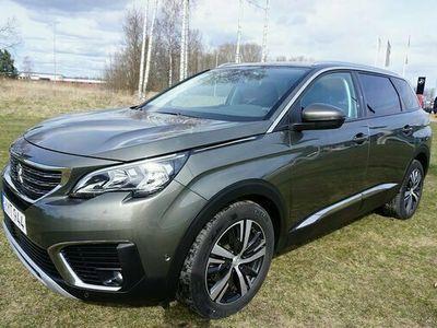 begagnad Peugeot 5008 ALLURE PT 130 AUT 7-sits 2018, SUV Pris 239 000 kr
