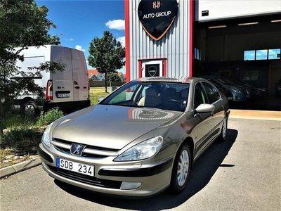 begagnad Peugeot 607 3.0 V6 Automat Nyservad Drag -01
