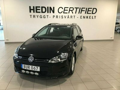 begagnad VW Golf Sportscombi 1.6 TDI BlueMotion Manuell, 110hk,