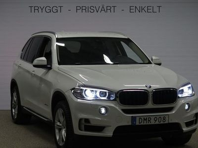 begagnad BMW X5 xDrive30d V-HJUL