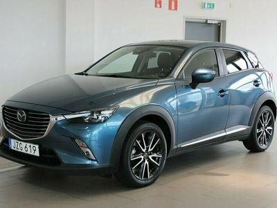 begagnad Mazda CX-3 2.0 SKYACTIV-G AWD Optimum B-kamera Navi 150hk