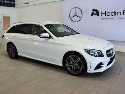 used Mercedes 220 C-Klassd DEMO AMG, Navi, Drag