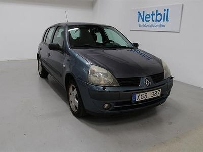 begagnad Renault Clio II 1.2 16v 5dr 75hk Rep. Objekt