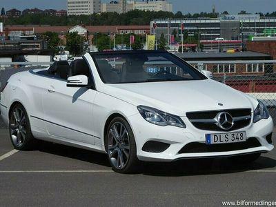 begagnad Mercedes E200 Cab Automat Navi Nyservad