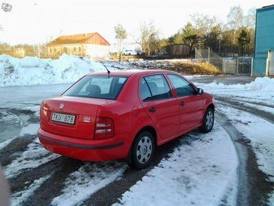 begagnad Skoda Fabia 1.4i, 4dörras sedan -02