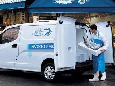 begagnad Nissan NV200 Kylbil
